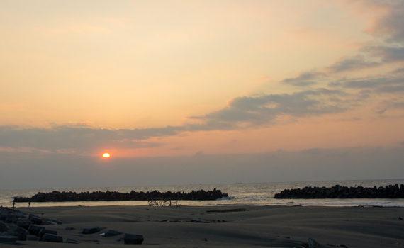 2012年台灣極西之地最後日落